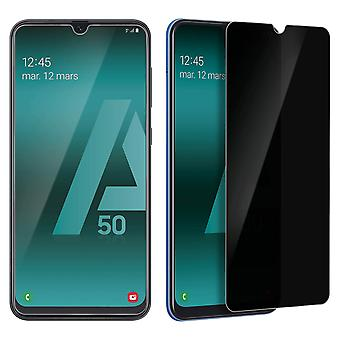 Samsung Galaxy A50 Tempered Glass Screen Protector Anti-Spy Curved Edges 9H