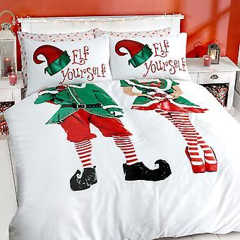 Elf Yourself Bettwäsche Set