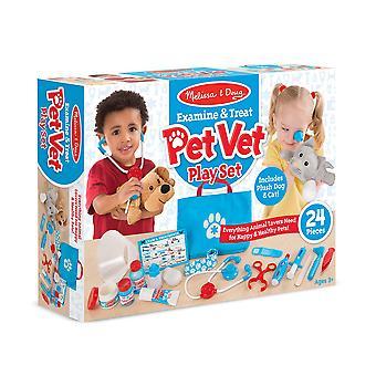 Enfants Melissa & Doug Pet Vet jouer ensemble 3 + ans