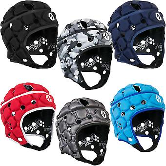 Body Armour Adults Ventilator Rugby Training Protective Scrum Cap Head Guard