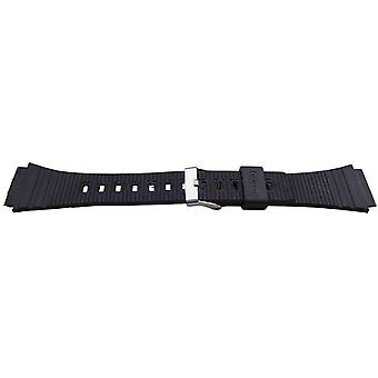 Casio generic watch strap 20mm (25mm overall width) stainless steel buckle