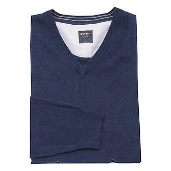 OLYMP Olymp Blue Sweater 0160 10 13