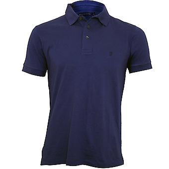 Fransk Connection Classic Jersey Polo Shirt, Cool Blue