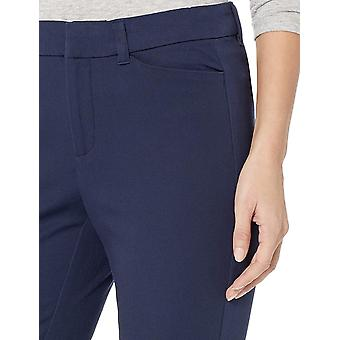 Amazon Essentials Women's Skinny Pant, Navy, 2 Regular, Navy, Size 2.0