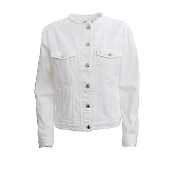 Ermanno Scervino Cp25nev10 Women's White Cotton Outerwear Jacket