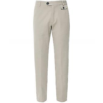 Oliver Spencer Organic Cotton Herringbone Eden Trousers