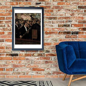 Edgar Degas - The Orchestra at the Opera Poster Print Giclee
