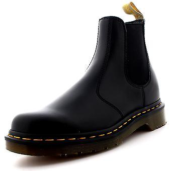 Heren Dr. Martens 2976 Felix Rub uit zwart werk elastische Vegan Chelsea Boot