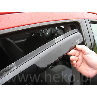 Front And Rear Heko Deflectors For Hyundai TUCSON 2015-2021
