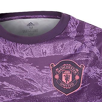 adidas Manchester United 2019/20 Kids Home Goalkeeper Shirt Purple