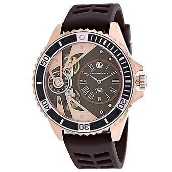 Oceanaut Men's Tide Brown Dial Watch - OC0996