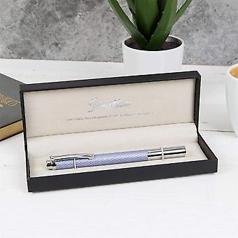 Stratton Chrome & Mauve Roller Ball Pen In A Gift Box - A Wonderful Gift For That Special Person (ST1215)