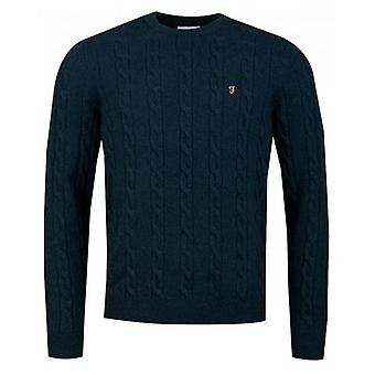 Farah Cobby Cable Knit Jumper