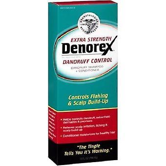 Denorex Schuppenkontrolle Extra Stärke Shampoo + Conditioner