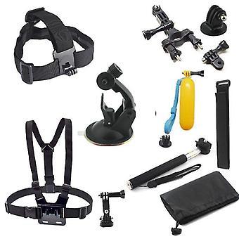 Accessoires Kit voor GoPro actiecamera's 10 onderdelen