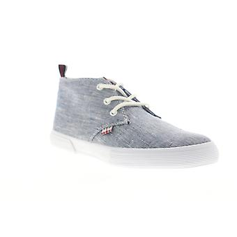 Ben Sherman Bradford Chukka  Mens Blue Canvas Lifestyle Sneakers Shoes