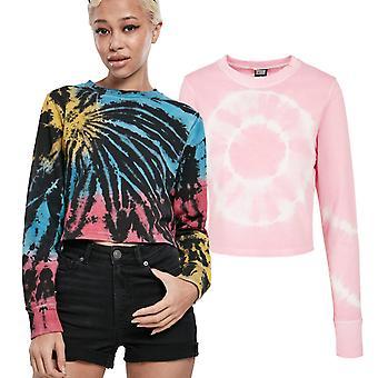 Urban Classics Ladies - Tie Dye Cropped Sweater