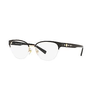 Versace VE1255B 1433 Svart-Guld glasögon