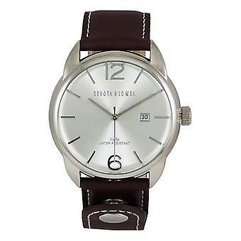 Men's Watch Devota & Lomba DL009M-01BRWHITE (42 mm)