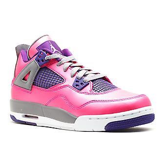 Meninas Air Jordan 4 Gs retrô - 487724 - 607 - sapatos