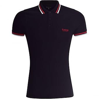 Firetrap Mens Original Designer Polo T Shirt Collared Pique Small Logo Top