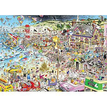 Gibsons Jigsaw Puzzle – I Love Summer by Mike Jupp, 1000 Piece