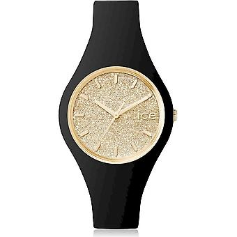 Ice Watch - Armbanduhr - Unisex - ICE glitter - Black Gold - Small - 3H - 001348