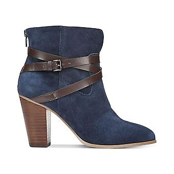 Carlos by Carlos Santana Womens Miles Leather Almond Toe Ankle Fashion Boots