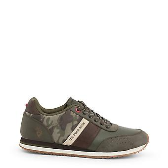 Man leather sneakers shoes ua96631