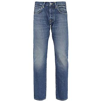 Edwin ED-55 Red Listed Selvage Regular Tapered Blue Satomi Wash Jeans