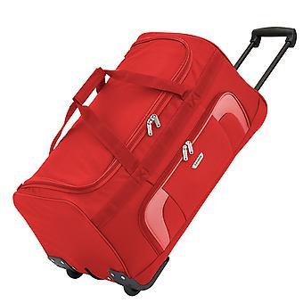 Travelite Orlando Trolley Travel Bag L, 2 rollos, 70 cm, 73 L, rojo