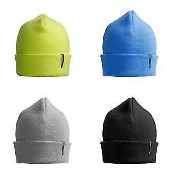 ID 中性经典针织丙烯酸比尼帽子