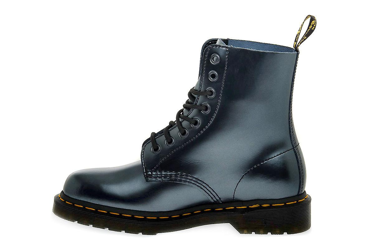 Dr martens pascal chroma silver boots / scarponcini bGha3