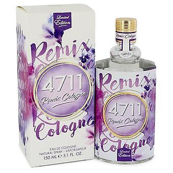 4711 Remix Lavender Eau De Cologne Spray (Unisex) By 4711 5.1 oz Eau De Cologne Spray