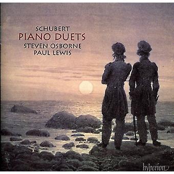 F. Schubert - Schubert: Piano Duets [CD] USA import