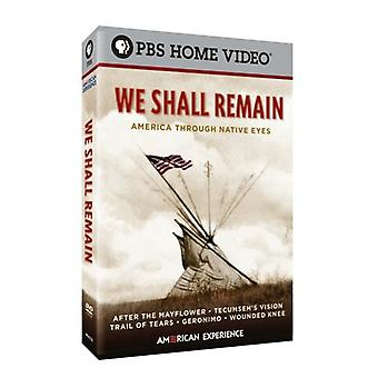 We Shall Remain [DVD] USA import