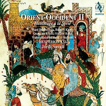 Savall/Hesperion Xxi - Orient-Okzident, Vol. 2: Hommage La Syrie [SACD] USA import