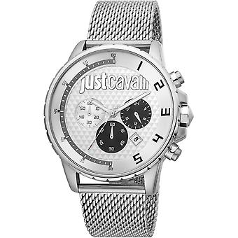Just Cavalli Sport Watch JC1G063M0255 - Stainless Steel Gents Quartz Chronograph