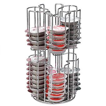 Roterende Capsule Coffee Pods Holder Storage Rack