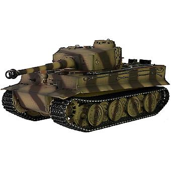 Taigen handgemalt RC Panzer - Full Metal Upgrade-Version - Tiger Camo - 2,4 GHz