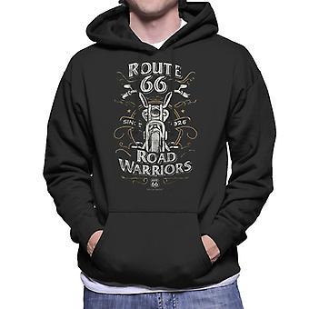 Route 66 Road Warriors Men's Hooded Sweatshirt