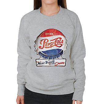 Pepsi Cola More Bounce To The Ounce Women's Sweatshirt