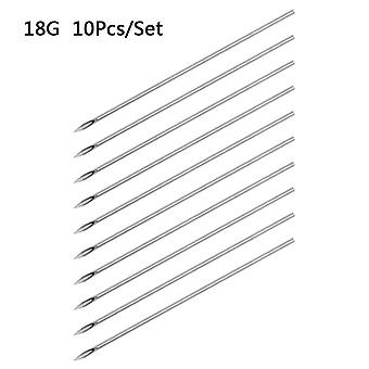 Disposable Tattoo Piercing Needles For Navel Nipple Ear Nose Lip - Tattoo Piercing Needles