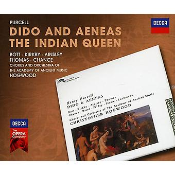 H. Purcell - Purcell: Dido and Aeneas; the Indian Queen [CD] USA import
