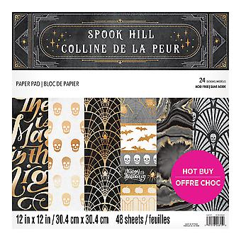 Craft Smith Spook Hill 12x12 Inch Paper Pad
