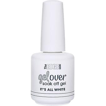 The Edge Nails Gelover 2019 Soak-Off Gel Polish Collection - It's All White 15ml (2003312)