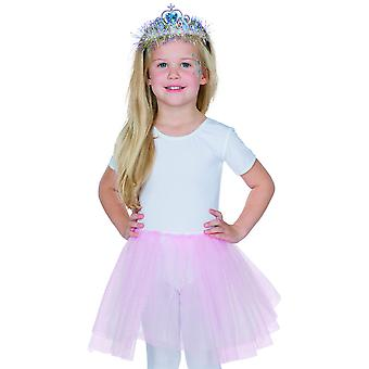Diadem Shimmer Blue Child Princess Carnival Girl Harrreif Crown