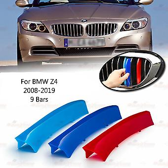 BMW Z4 2008-2019 9 Bars Clip In Grill M Power Kidney Stripes Cover