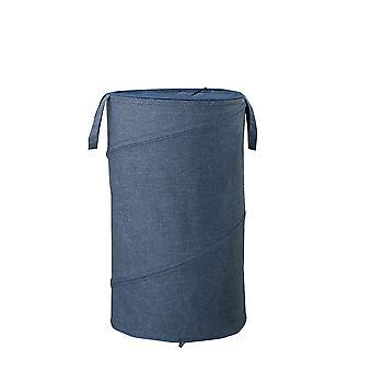 Vaskekurven er vanntett Stor vaskekurv Oxford klut sammenleggbar vaskekurv vanntett bærbar oppbevaringsveske