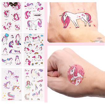Unicorn Temporary Tattoo Bachelorette Sticker For Party Decoration Body Sticker Wedding Temporary Decoration